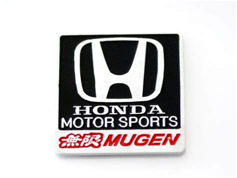 Logo Emblem Black Honda Freed Jazz Civic Accord Bri Berkualitas honda mugen emblem sticker logo badge decal aluminum alloy black civic jazz accord city