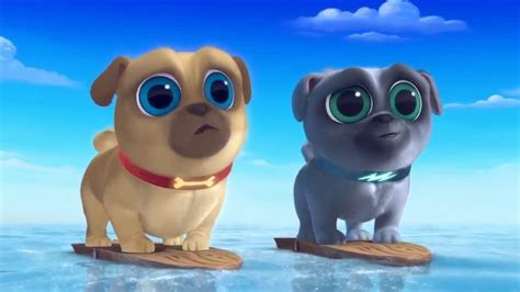 disney puppy pals puppy pals bingo and rolly going surfing puppy pals show disney 2017