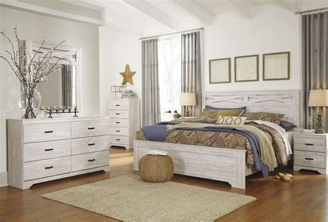 whitewash bedroom furniture briartown whitewash panel bedroom set from ashley
