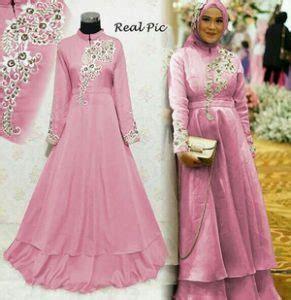 baju pesta perkawinan model baju muslim untuk pesta perkawinan rania