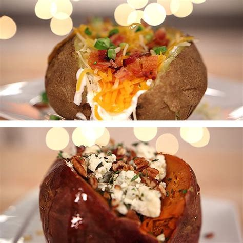 Ideas For Baked Potato Bar Toppings by Recipe Ideas Baked Potato Topping Ideas Recipe