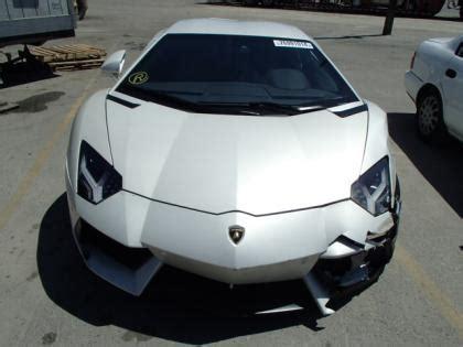 Salvage Lamborghini Aventador Export Salvage 2013 Lamborghini Aventador Lp700 4 White