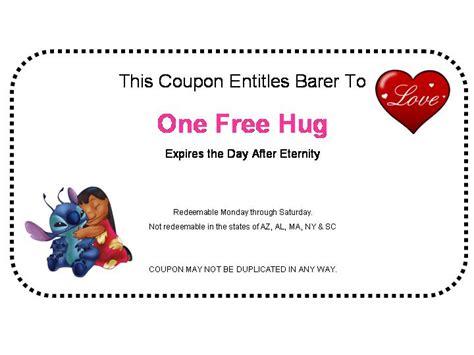 printable free hug coupons hug coupon by hungrylikethwolf203 on deviantart