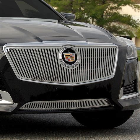 Cadillac Cts Grills by E G Classics 174 Cadillac Cts 2014 Chrome Vertical Billet