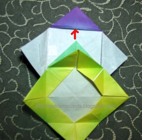Origami Globe - cards and papercrafting quot impatien quot modular