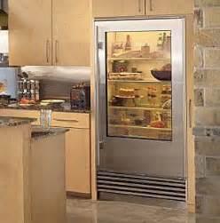 refrigerator with glass front door glass door refrigerators fleur de list home decor