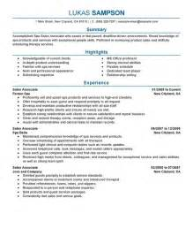 High End Retail Resume Best Resume Gallery
