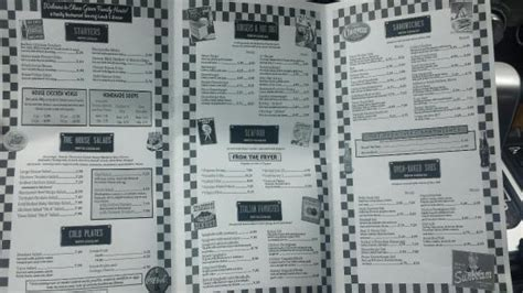 Family House Menu by China Grove Family Restaurant Picture Of China Grove
