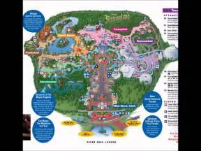magic kingdom disney world interactive map
