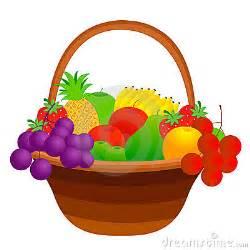 Basket Of Fruit Clipart Picnic Clipart » Ideas Home Design