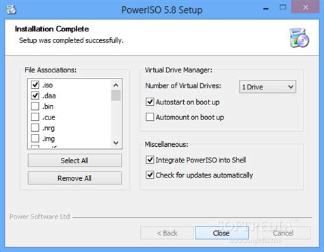 poweriso full version softpedia poweriso 5 8 review softpedia