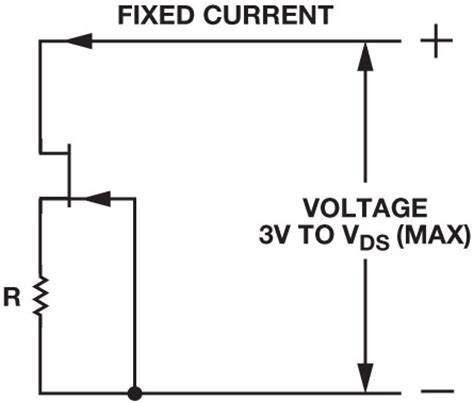 constant current diode jfet current output circuit techniques add versatility to your analog toolbox analog devices