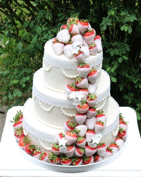 Hochzeitstorte Erdbeer by Hochzeitstorte Mit Erdbeeren Rezept Alle Guten Ideen