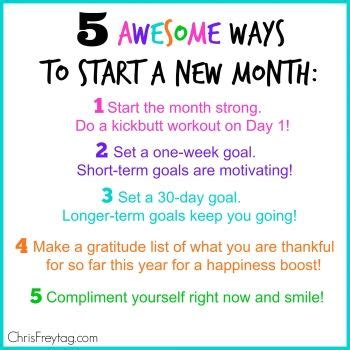 What A Way To Start A Day by New Month New Beginnings Quotes Quotesgram