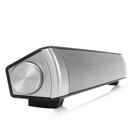 Soundbar Jhw V361 Bluetooth Black bluetooth wireless tv soundbar speaker sound bar home