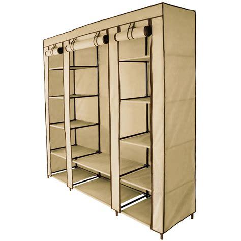 armadio tela armadio tessuto guardaroba maxi 150x45x175 cm armadi di