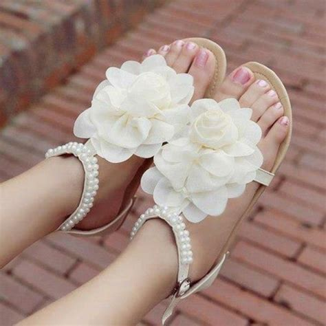 pretty flower shoes beautiful princess flower shoes low flat shoes with