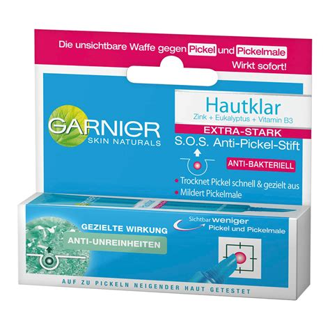 Garnier Serum 10ml gel trị mụn garnier hautklar anti pickel stift s o s h 224 ng