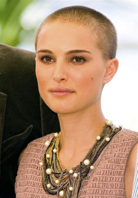 Women's Hairstyles: Shave And A Haircut For Women Natalie Portman, photos shaved, men haircut