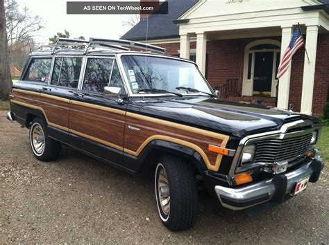1985 Jeep Wagoneer 1985 Jeep Grand Wagoneer Absolutely No Rust