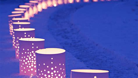 electric luminaries for christmas vinyl luminaries