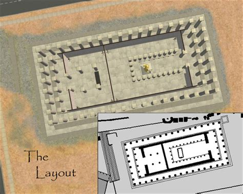 floor plan of the parthenon mod the sims the parthenon 2 versions ruined and intact