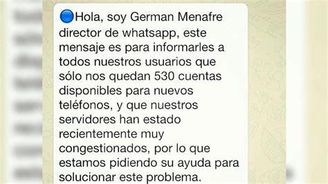 cadenas para enviar amigos whatsapp la contundente raz 243 n por la que no debes enviar