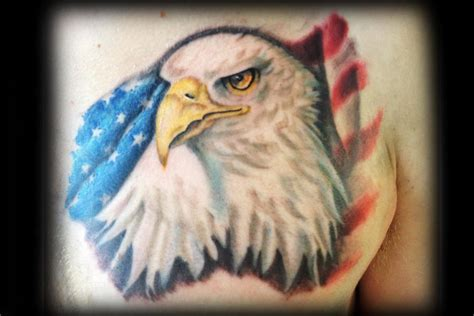tattoo eagle realistic realistic eagle tattoo by ricky borchert tattoonow