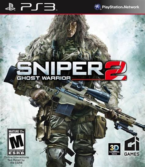 sniper ghost warrior 2 metacritic sniper ghost warrior 2 box shot for playstation 3 gamefaqs