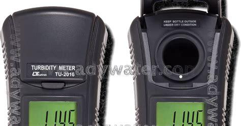 Lutron Tu 2016 jual turbidity meter tu 2016 seluk beluk kekeruhan yang