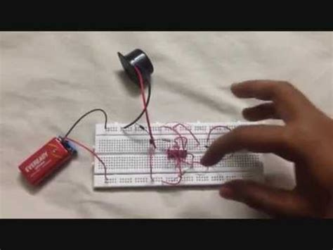 luggage security alarm using logic gates