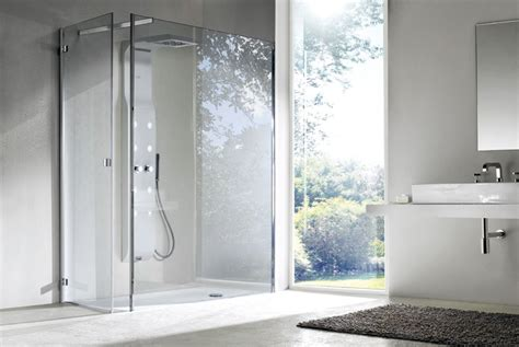Bathroom Shower Cabins Simple Brilliant Sophisticated Bathroom Design Idea With Ultra Frameless Shower Cabin Pictures