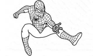Print Download Spiderman Coloring Pages Paint Painting Pages