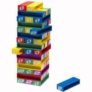 Stacking Uno Stacko Mainan Block Edukasi New Uno Stacko