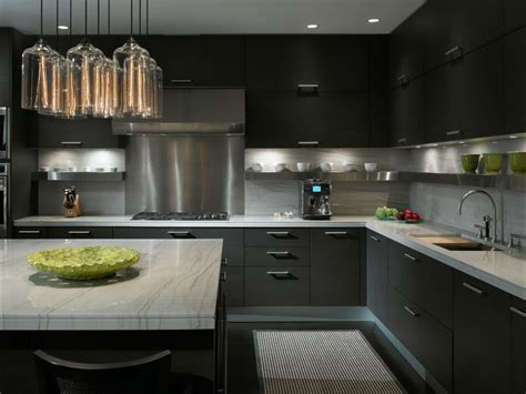 charcoal gray kitchen cabinets design ideas sleek charcoal gray for an upscale bachelor pad charcoal