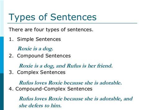 pattern complex sentence resume sentence structure sentence patterns worksheets