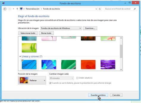 como cambiar el fondo de escritorio c 243 mo cambiar el fondo del escritorio en windows tecnicomo