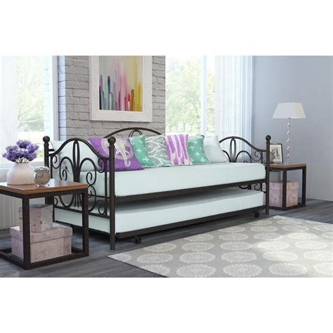 White Metal Daybed With Trundle White Metal Daybed With Trundle Metal Day Bed Black Ivory White Daybeds Daybed And Trundle