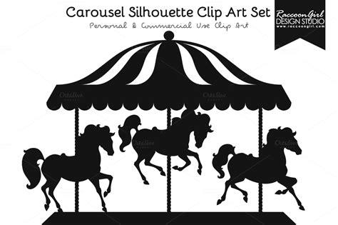 Carousel Silhouette Clip