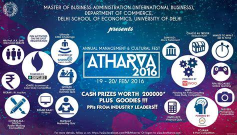 Delhi School Of Economics Mba Cut 2016 by Atharva 2016 Management Cultural Delhi School Of
