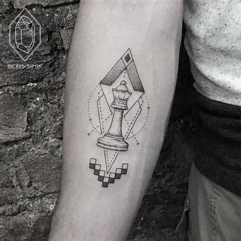 geometric tattoo istanbul 30 beautiful geometric tattoos by bicem sinik chess