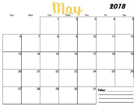 printable calendar may 2018 may 2018 calendar printable printable templates letter