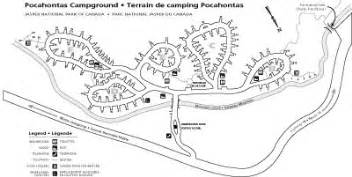 Pocahontas State Park Map by Pocahontas Campground Jasper Alberta Canada Jasper