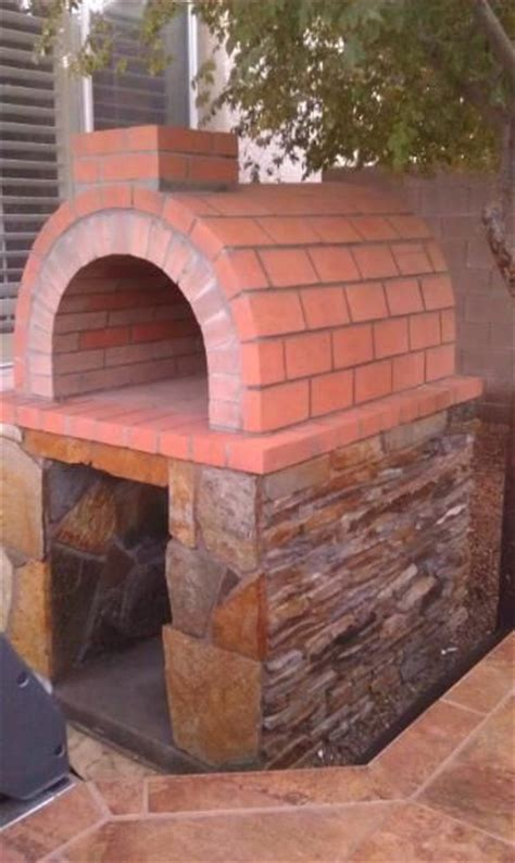 Build A Brick Oven Backyard by Diy Pizza Oven Brick Ovens And Oven Diy On