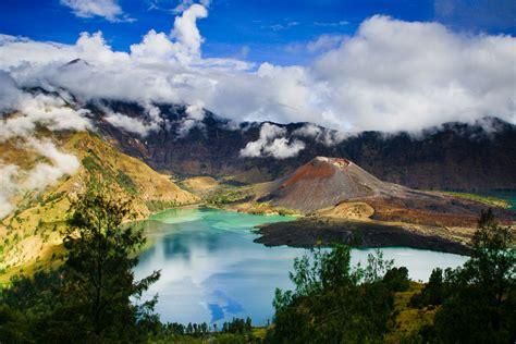 wallpaper anak gunung is most beautiful scenery in the world gunung rinjani