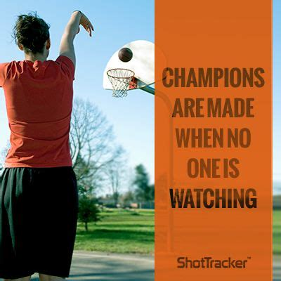 Champions are made when no one is watching are you ready to become a
