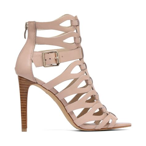 high heeled gladiator sandals vince camuto ombre gladiator high heel sandals in beige