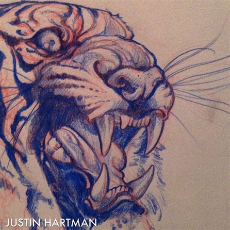 tattoo tiger instagram instagram post by justin hartman justinhartmanart