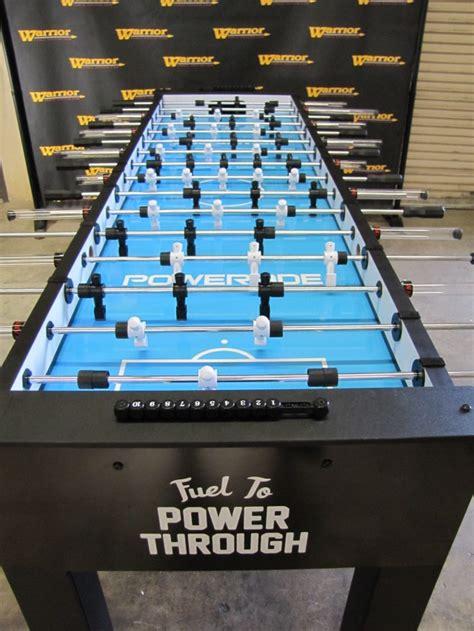 powerade 8 man custom table