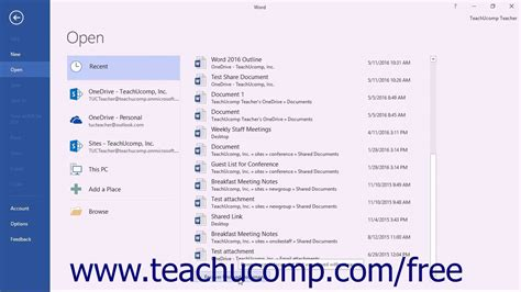 How To Retrieve Word Document Not Saved 2016 word 2016 tutorial recovering unsaved documents microsoft